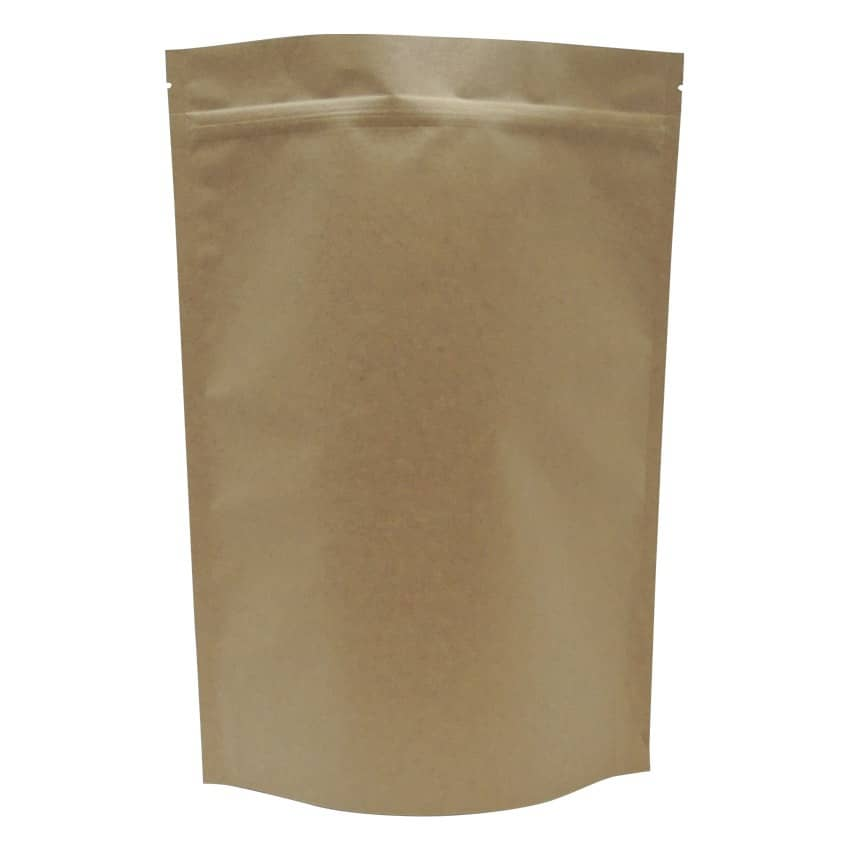 1kg stand up pouch natural kraft