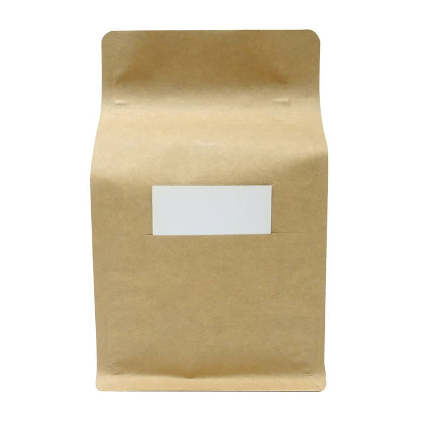 250g Box Bottom Bags with Slit