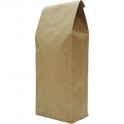 500g side gusset bag, natural kraft