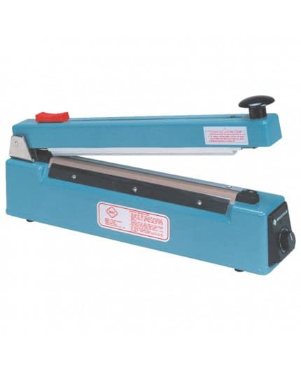 Impulse hand sealer with build in trimmer