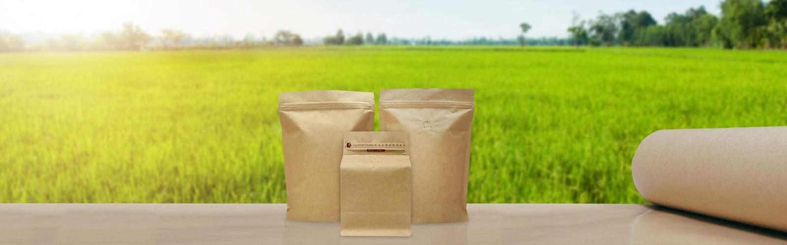 2020 metal free eco friendly coffee bags