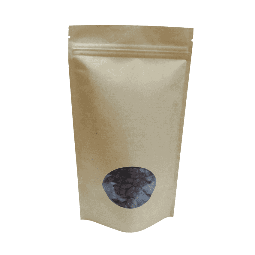 150g doypack for samples with window