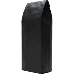 250g side gusset bag black