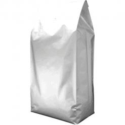 5kg side gusset bag silver with valve