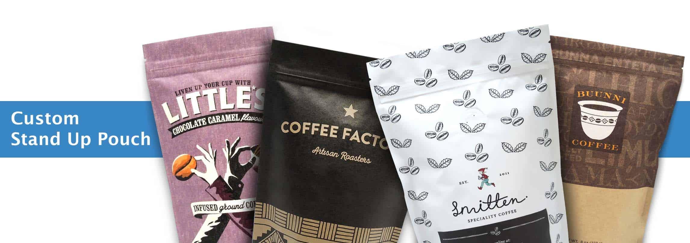 custom coffee and tea bags