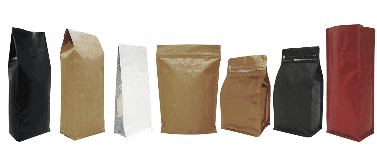 stock coffee packaging
