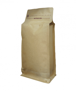 250g tall box bottom bag for tea and coffee