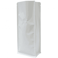 250g white bag for coffee and tea