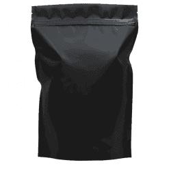 500g black doypack with zip