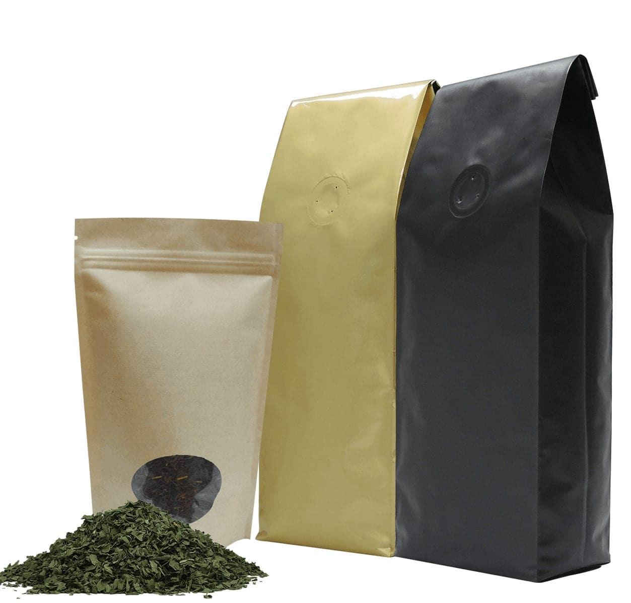 bags for tea, tea packaging