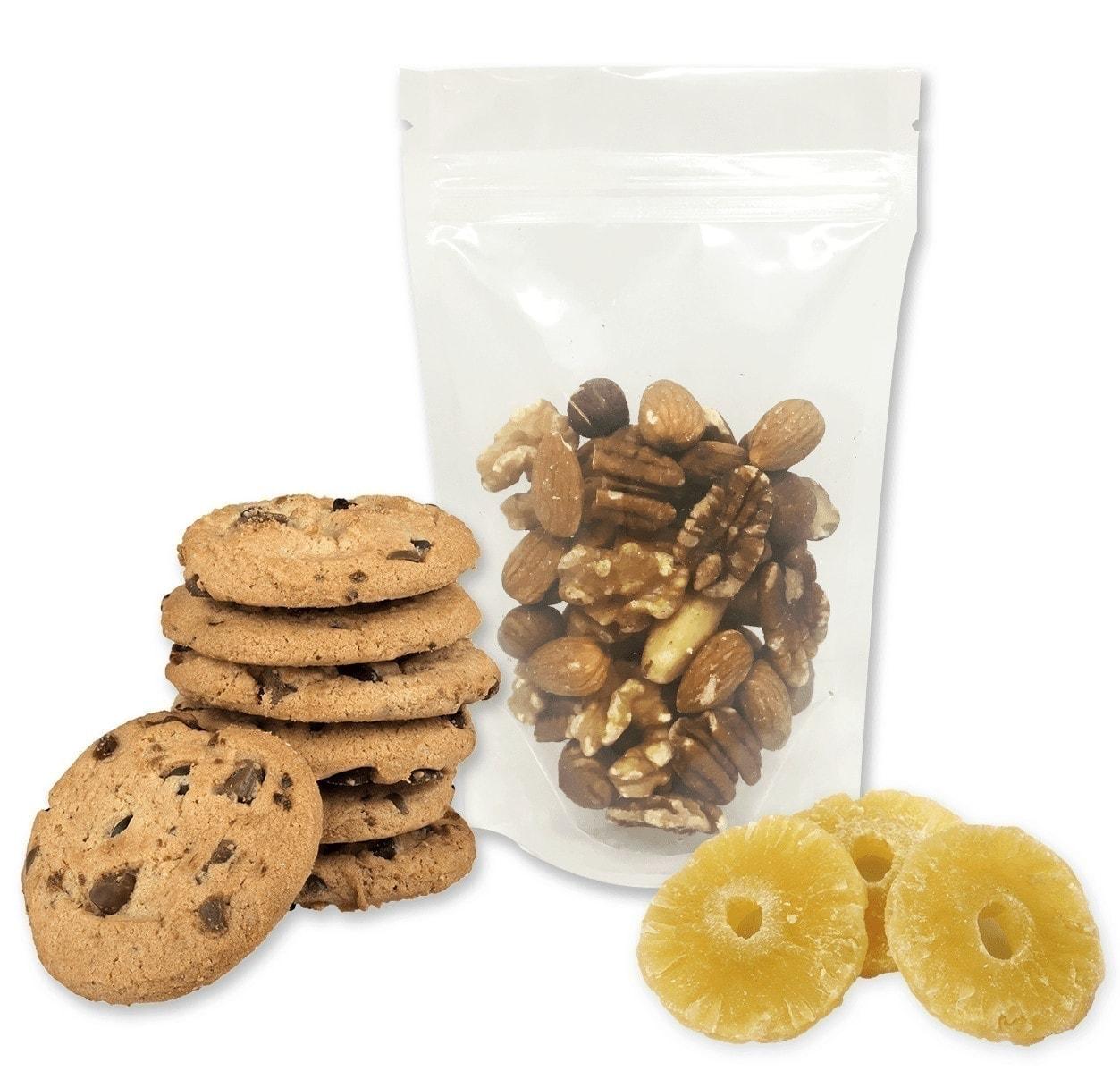 food packaging bags, clear bags