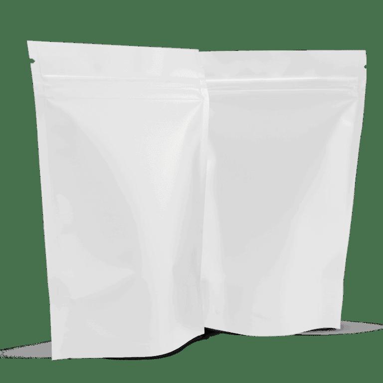 White Side Gusset Bag