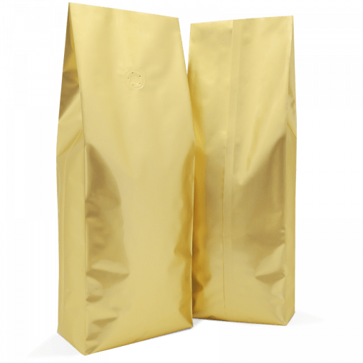 250 Side Gusset Bags with Valve and Tin Tie