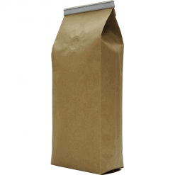 250g side gusset bags with tin tie and valve