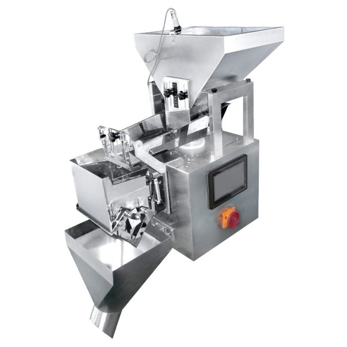 Single head linear feeder and weigher