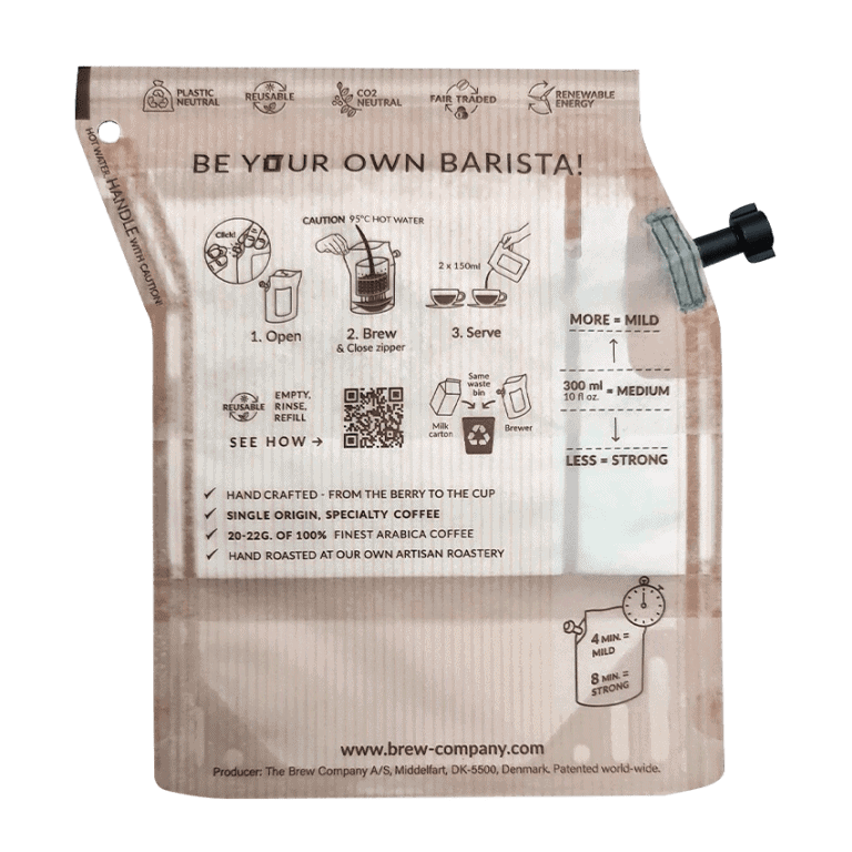 Brew Bags with Instructions
